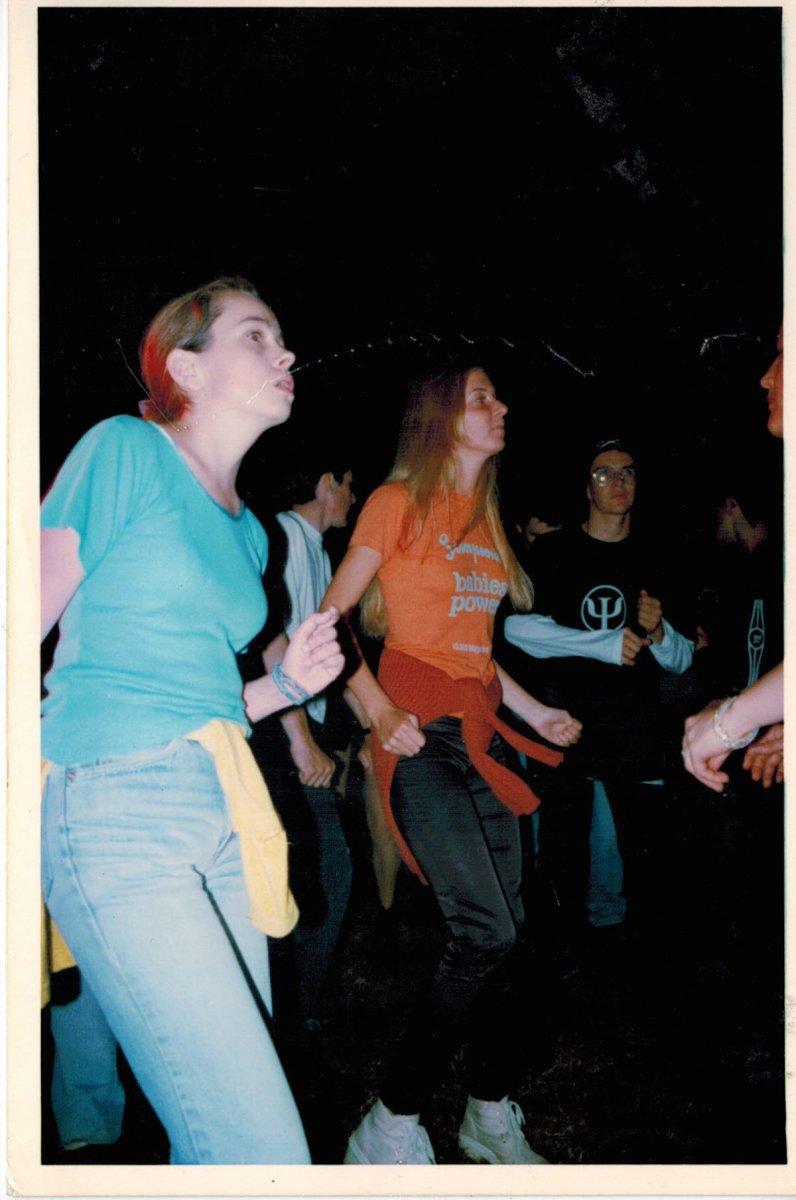Le public, en 1995