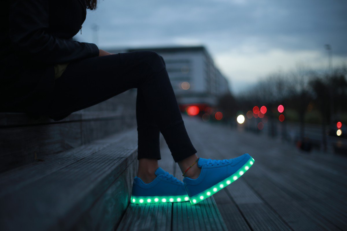 LED SHOES / © Maison Tothem