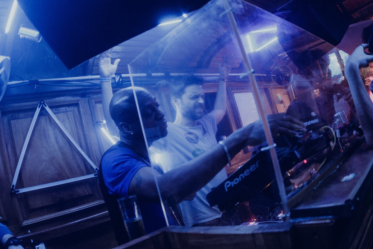 Robert Owens et Jeremy Underground - ©Sarah Bastin