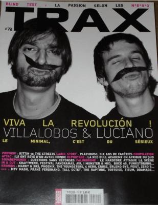 TRAX #72 Villalobos & Luciano