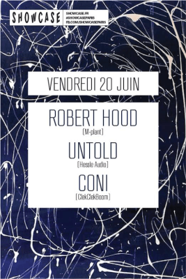 Robert Hood au Showcase