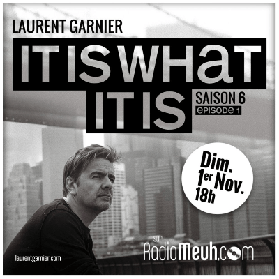 laurent garnier it is what it is