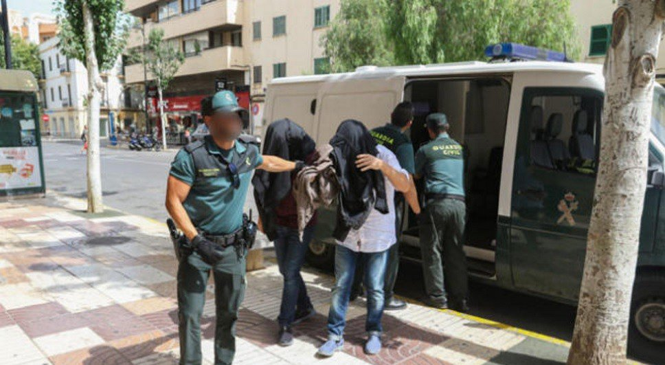 Arrestations Ibiza (Pau Ferragut)