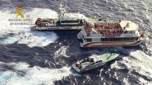 Boat Party Ibiza (Guardia Civil)