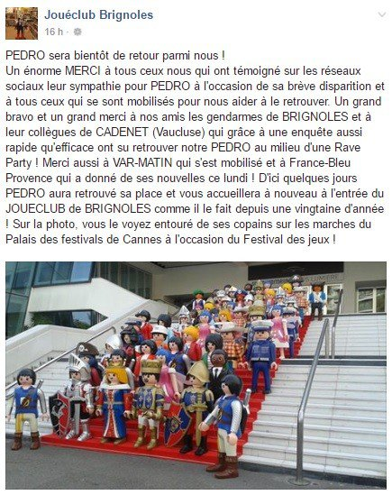 Facebook JouéClub Brignoles Rave