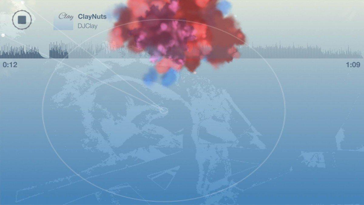 Clay appli musique