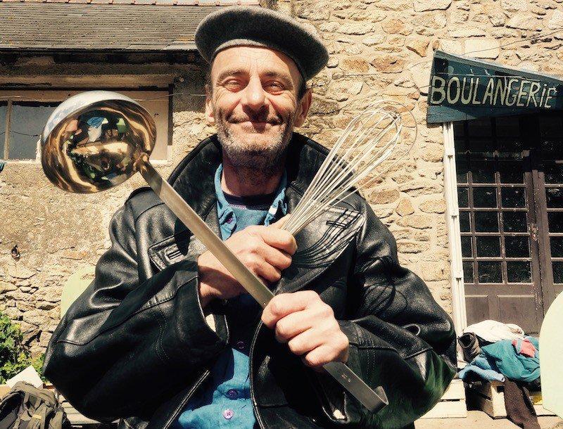 Jean-Joseph, ancien cadre installé dans la ZAD