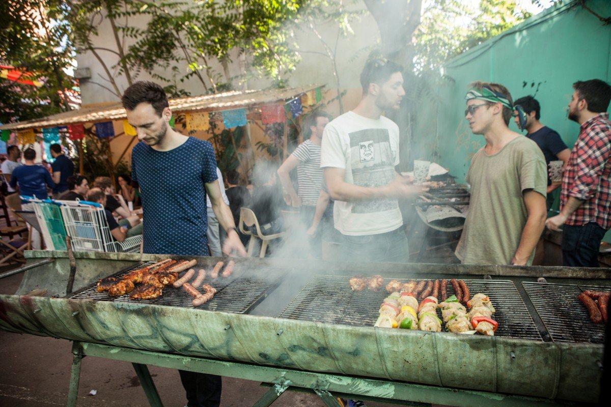 Le barbecue Papin. © Luc de Lagontrie