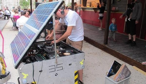 Solar SoundSystem