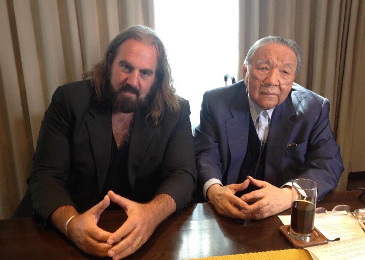 Arthur Baker avec Ikutaro Kakehashi (Roland)