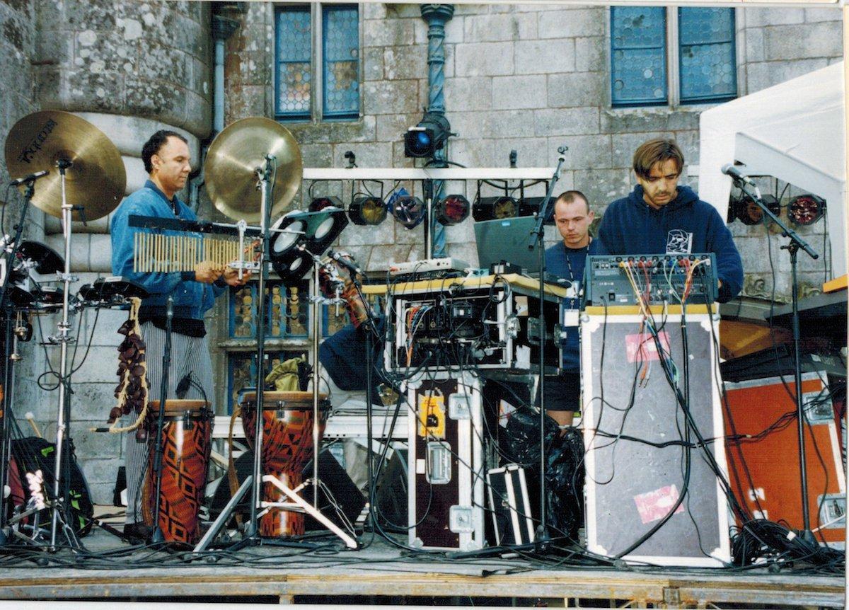 Laurent Garnier, en live en 1998