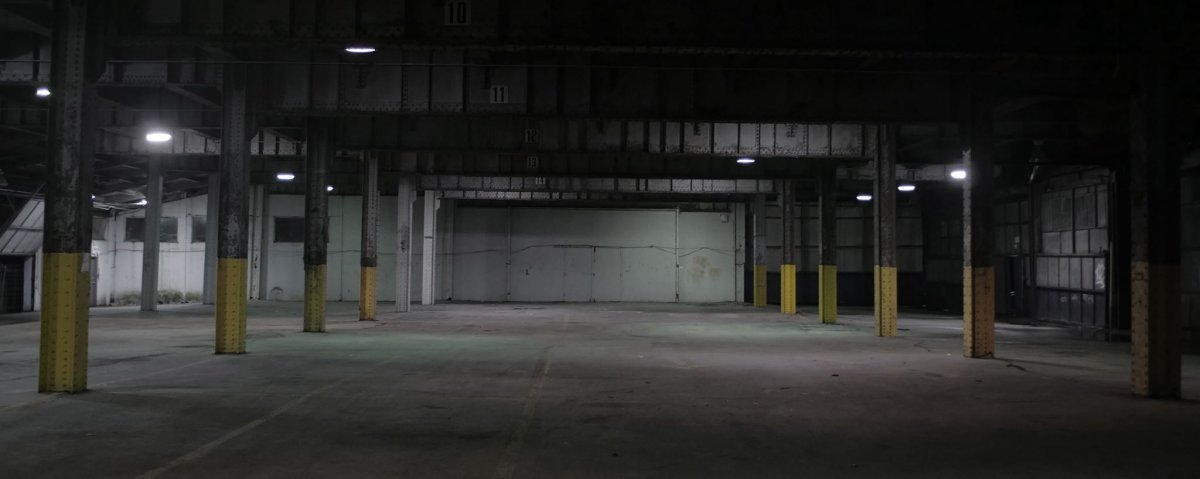 La Bacchanale hangar stage