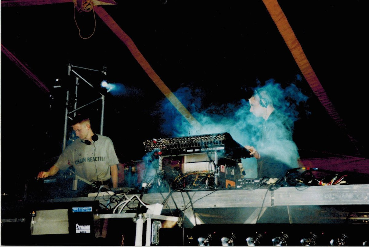 Chain Reaction @ Astrofloor (1998)