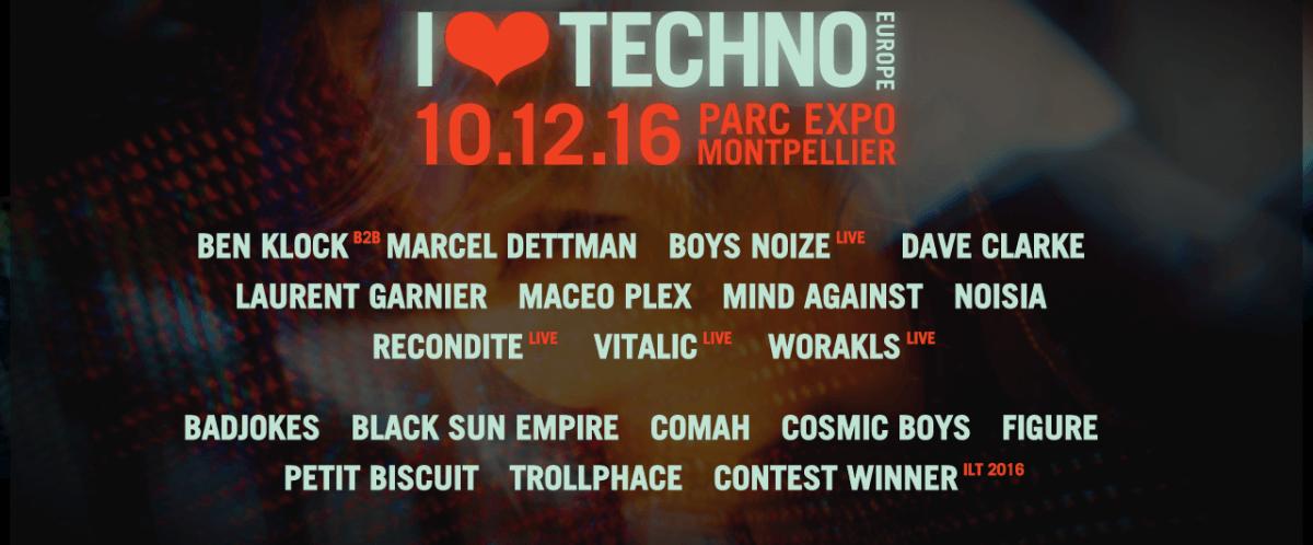 i love techno 2016