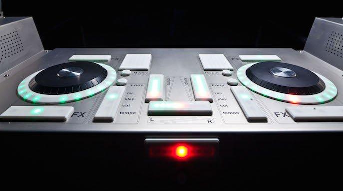 La cabine de DJ
