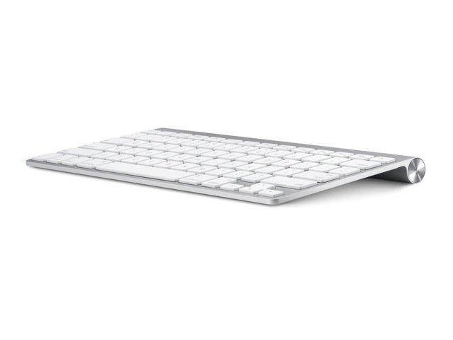 Le clavier d'ordinateur Bluetooth d'Apple