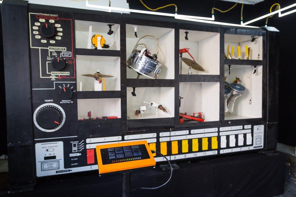 L'installation MR-808