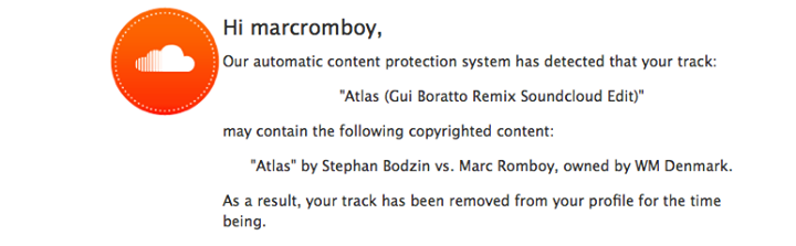 Soundcloud Mark Romboy