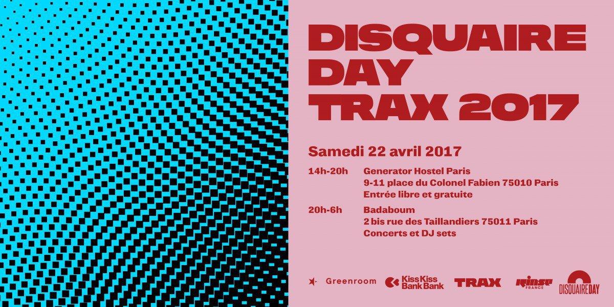 trax disquaire day